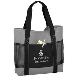 View a larger, more detailed picture of the Uptown Traveler Tote