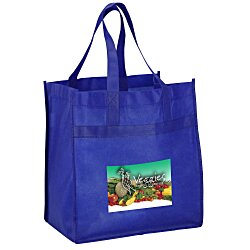 View a larger, more detailed picture of the Easy Shopper Tote - Full Color