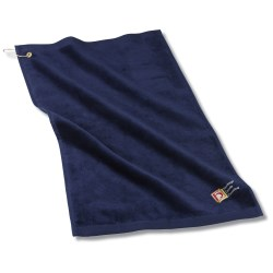View a larger, more detailed picture of the Golf Towel w Grommet and Clip - 24 hr