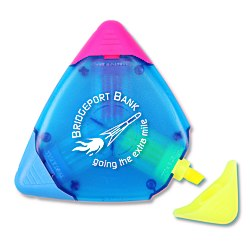 View a larger, more detailed picture of the TriMark Highlighter - Translucent - Blue - 24 hr