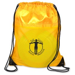 View a larger, more detailed picture of the Nylon Sportpack with Mesh trim- Closeout
