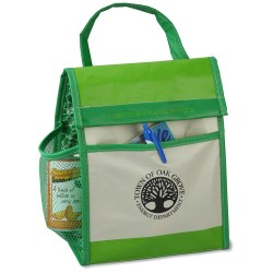 View a larger, more detailed picture of the Recycled Impulse Lunch Cooler - Green