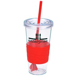 View a larger, more detailed picture of the Revolution Tumbler w Straw - 24 oz
