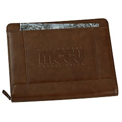 View a larger, more detailed picture of the Cutter & Buck Legacy Zippered Padfolio