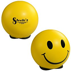 View a larger, more detailed picture of the Friendly Face Stress Ball - 24 hr