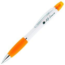 View a larger, more detailed picture of the Curvy Pen Highlighter - 24 hr