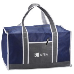 View a larger, more detailed picture of the Square Duffel Bag - 24 hr