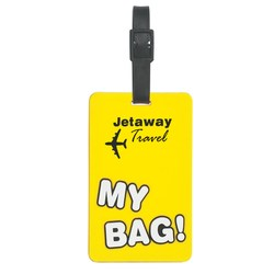 View a larger, more detailed picture of the My Bag Luggage Tag