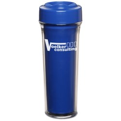 View a larger, more detailed picture of the Silver Shield Antimicrobial Tumbler - 14 oz