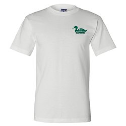 View a larger, more detailed picture of the Bayside Union Made T-Shirt - White