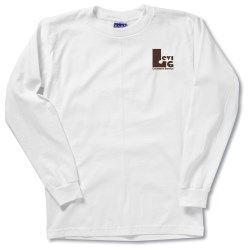 View a larger, more detailed picture of the Bayside Union Made LS T-Shirt - White