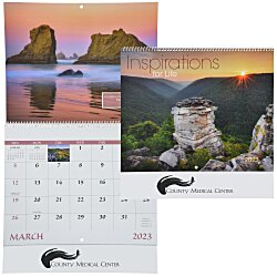 View a larger, more detailed picture of the Inspirations for Life Calendar - Spiral