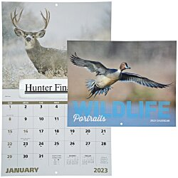 View a larger, more detailed picture of the Wildlife Portraits Calendar - Window