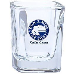View a larger, more detailed picture of the Square Shot Glass - 2 oz