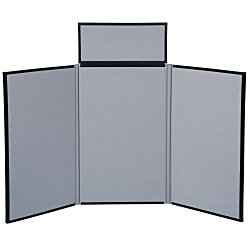 View a larger, more detailed picture of the Fold N Go Tabletop Display - 4 - Blank