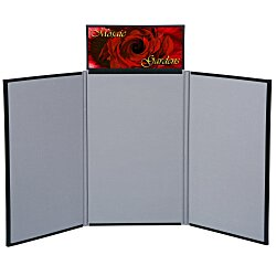 View a larger, more detailed picture of the Fold N Go Tabletop Display - 4 - Header