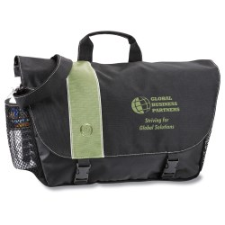View a larger, more detailed picture of the Owl Deluxe Messenger Bag - Closeout Color