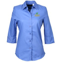 View a larger, more detailed picture of the Soft Collar Sleeve Poplin Shirt Ladies 