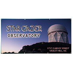View a larger, more detailed picture of the Value Outdoor Banner - 3 x 6 