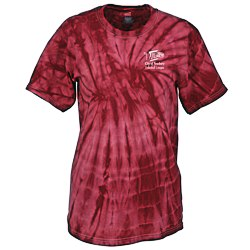 View a larger, more detailed picture of the Tie-Dye T-Shirt - Tonal Spider