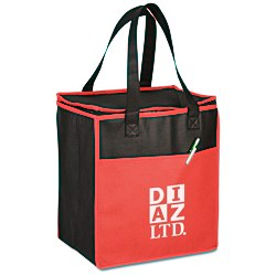 View a larger, more detailed picture of the Tote-it-All Colorful Cooler