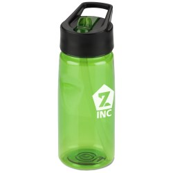 View a larger, more detailed picture of the Notched Tritan Sport Bottle w Loop - 19 oz 