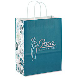 View a larger, more detailed picture of the Fashion Paper Shopper - Floral