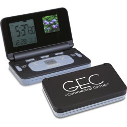 View a larger, more detailed picture of the Digital Photo Frame & Alarm Clock - Closeout