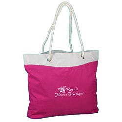 View a larger, more detailed picture of the Rope Tote - Colors