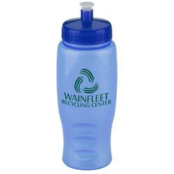 View a larger, more detailed picture of the Comfort Grip Sport Bottle - 27 oz - Pearl