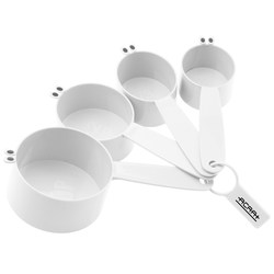 View a larger, more detailed picture of the Kuzil Krazy Measuring Cup Set - Closeout