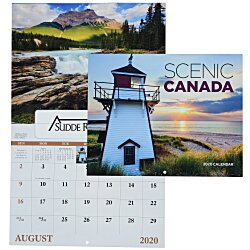 View a larger, more detailed picture of the Scenic Canada Calendar - Window