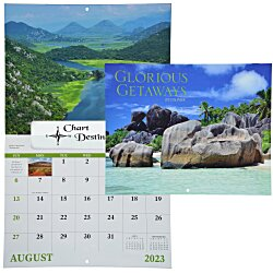 View a larger, more detailed picture of the Glorious Getaways Calendar - Window