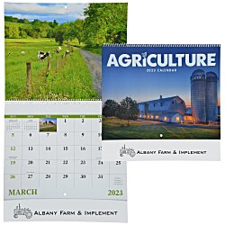 View a larger, more detailed picture of the Agriculture Calendar - Spiral