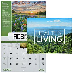 View a larger, more detailed picture of the Healthy Living Calendar - Window