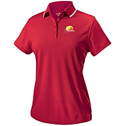 View a larger, more detailed picture of the Classic Moisture Wicking Tipped Polo - Ladies