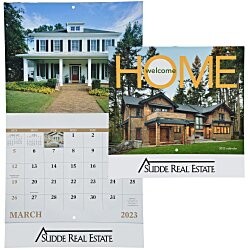 View a larger, more detailed picture of the Welcome Home Calendar - Stapled