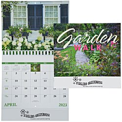 View a larger, more detailed picture of the Garden Walk Calendar - Stapled
