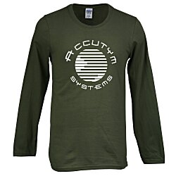View a larger, more detailed picture of the Gildan SoftStyle LS T-Shirt - Men s - Screen - Colors