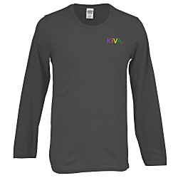View a larger, more detailed picture of the Gildan SoftStyle LS T-Shirt - Men s - Emb - Colors