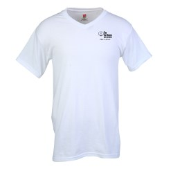 View a larger, more detailed picture of the Hanes Original V-Neck T-Shirt