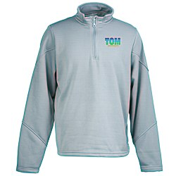 View a larger, more detailed picture of the Ultra Club Adult Cool & Dry Sport 1 4-Zip Fleece - Emb
