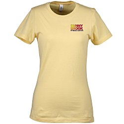 View a larger, more detailed picture of the Next Level Fitted 4 3 oz Crew T-Shirt - Ladies - Emb