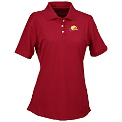 View a larger, more detailed picture of the Cool-N-Dry Stain-Release Performance Polo - Ladies