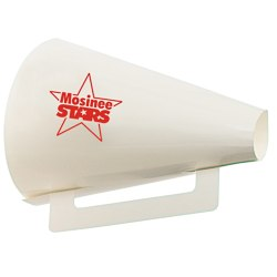 View a larger, more detailed picture of the Megaphone - Round - 8 - White