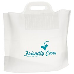 View a larger, more detailed picture of the Soft Bridge Handle Plastic Bag - 12 x 16
