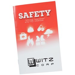 View a larger, more detailed picture of the Pocket Calendar & Guide - Safety