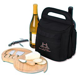 View a larger, more detailed picture of the Epicurean Wine & Cheese Kit