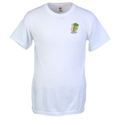 View a larger, more detailed picture of the Hanes Original T-Shirt - Embroidered