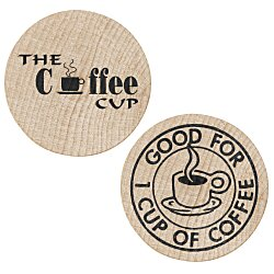 View a larger, more detailed picture of the Wooden Nickels - Coffee